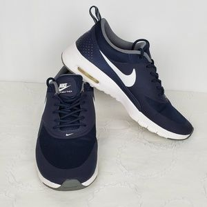 Nike Shoes - Nike Air Max Thea Blue/White Youth 6.5